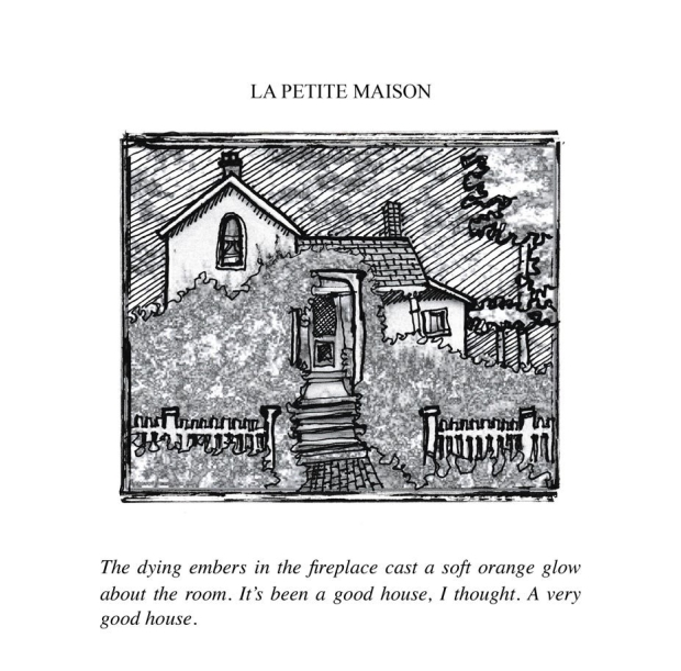 La Petite Maison, illustration from the book Penitentiary Tales, by EA Leutkemeyer