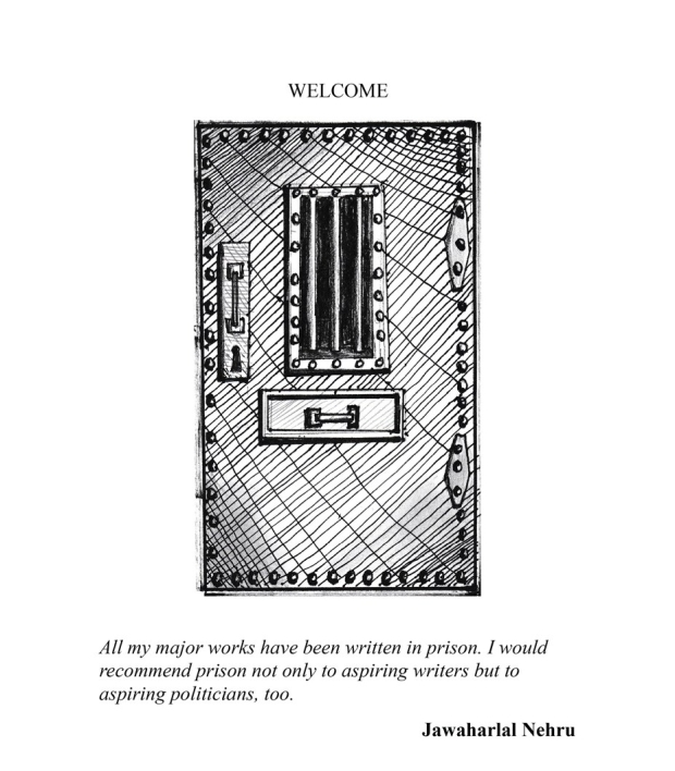 Welcome Illustration from the book Penitentiary Tales, by EA Leutkemeyer